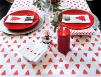 Acheter Non woven Christmas napkin epicea 40 x 40 cm