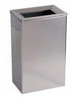 Acheter 25L stainless steel trash wall or table