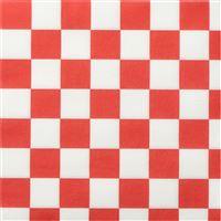 Acheter Celi Wadding Napkin 38 X 38 red checkered decor 960