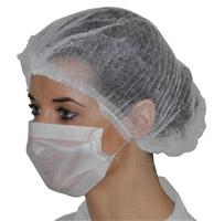 Acheter 1 white paper mask elastic fold 100