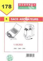 Acheter Karcher vacuum bag k2601 K2501 K3001 3001PLUS NT181 PUZZI90 212OME