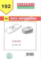 Acheter Karcher vacuum bag TSC 550-555