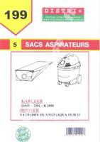 Acheter Bag vacuum Karcher K2101 2101TE 2111 2301 4000 + 4000TE