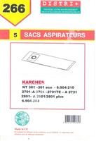 Acheter Karcher vacuum bag NT351 NT360ECO / 36136BS / ECONT6612701 / 2721