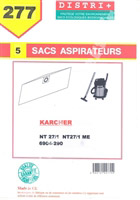 Acheter Vacuum bag Karcher NT27 / 1 NT27ME