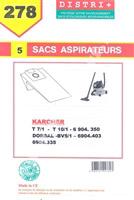 Acheter Karcher vacuum bag BV5 / 1 DORSAL T5 / T7 1/1 T9 / T10 1/1 6904316MF