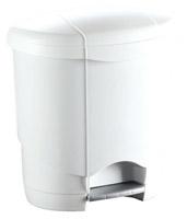 Acheter 3 liter pedal bin has plastic white