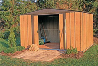 Acheter Garden shed Arrow WL65 galvanized steel 2.50 m2