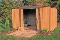 Acheter Garden shed Arrow galvanized steel 4 m2
