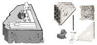 Acheter Kit Shelter Garden Arrow anchor for concrete floor