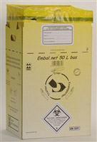 Acheter DASRI infectious waste box 50 L NFX 30507 low 10 pack