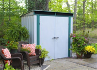 Acheter Metal garden shed 2.32 m2 galvanized Arrow