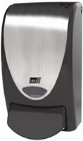 Acheter Soap dispenser design Deb langette black chrome