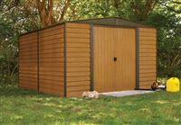 Acheter Garden shed Arrow WR1012 galvanized steel 10.7m2 imitation wood