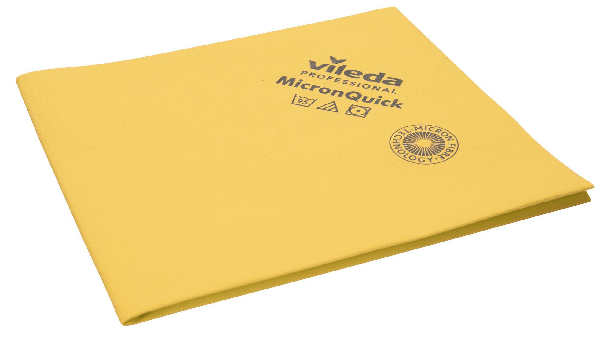 Vileda PVA Micro Special Microfibre Cloth 5 Pack Yellow