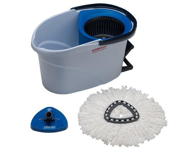 Blue Vileda Ultra Speed Mini Starter Kit