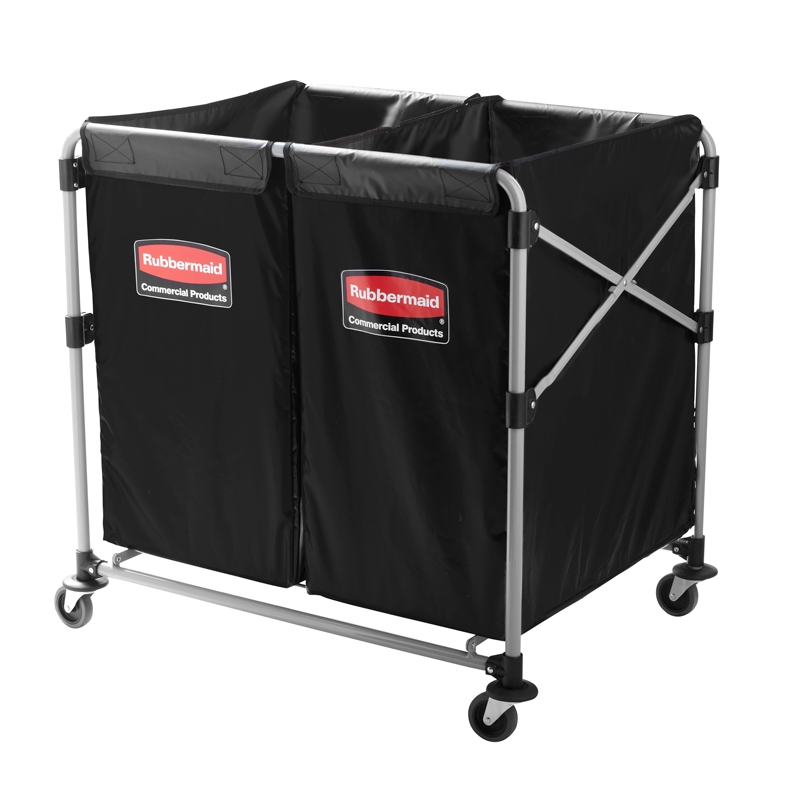 Hotel Linen Trolley Cart Rubbermaid X 300 L Fp 98961 on rubbermaid catalog