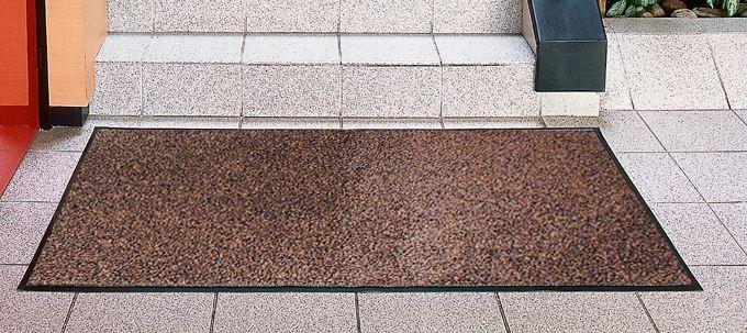 Carpet Interior Entrance Polypropylene 80x120 Cm Brown