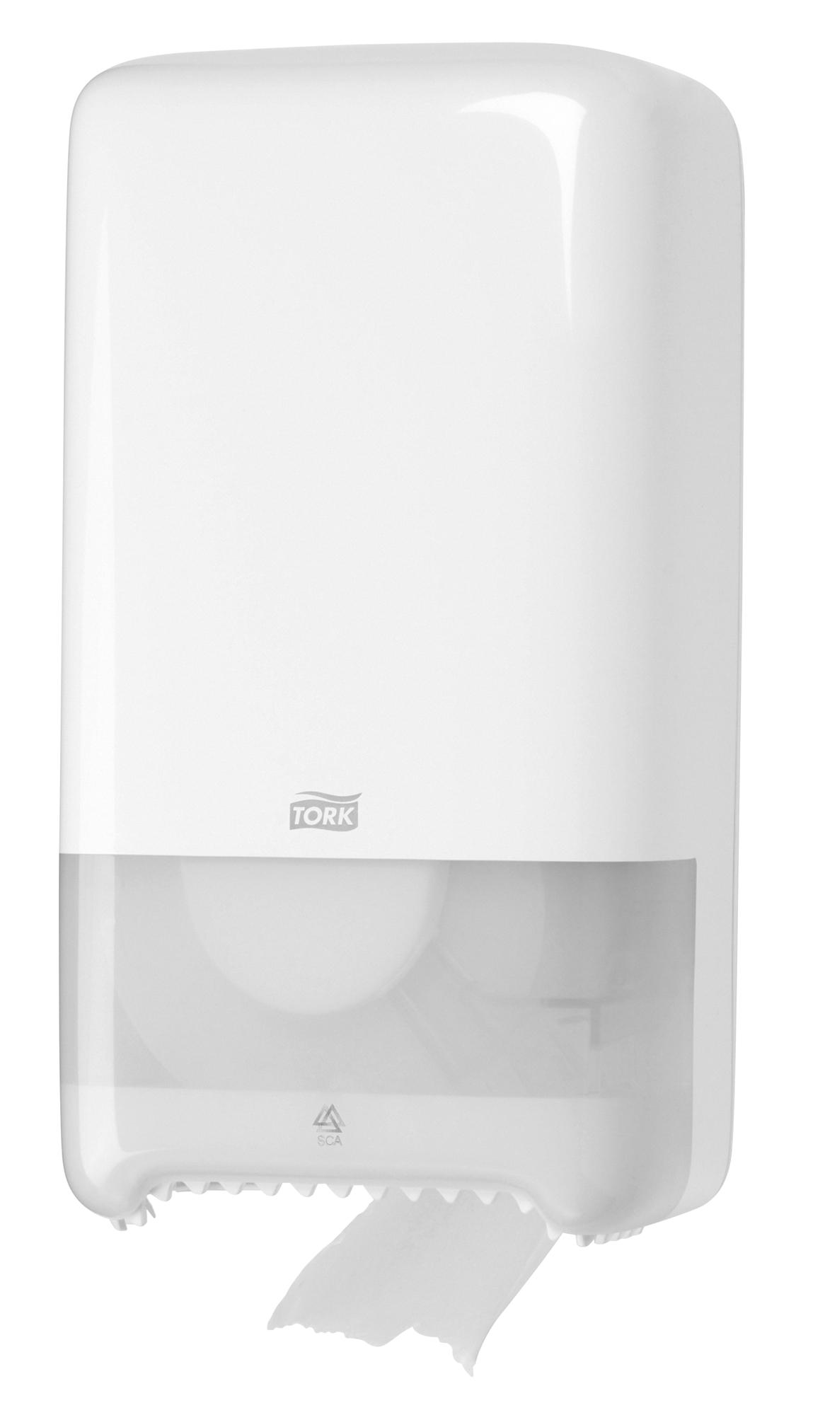 Dispenser Toilet Paper Tork T6 White