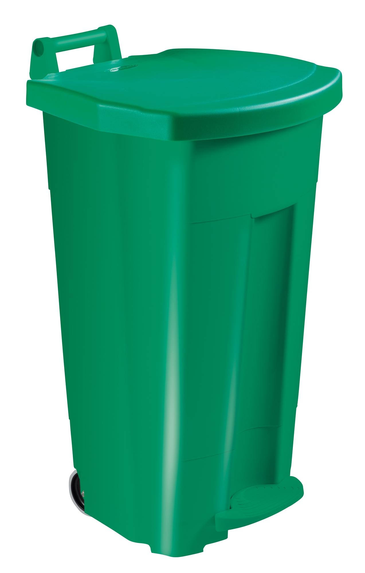 Kitchen bin Rossignol 90 liter HACCP Green