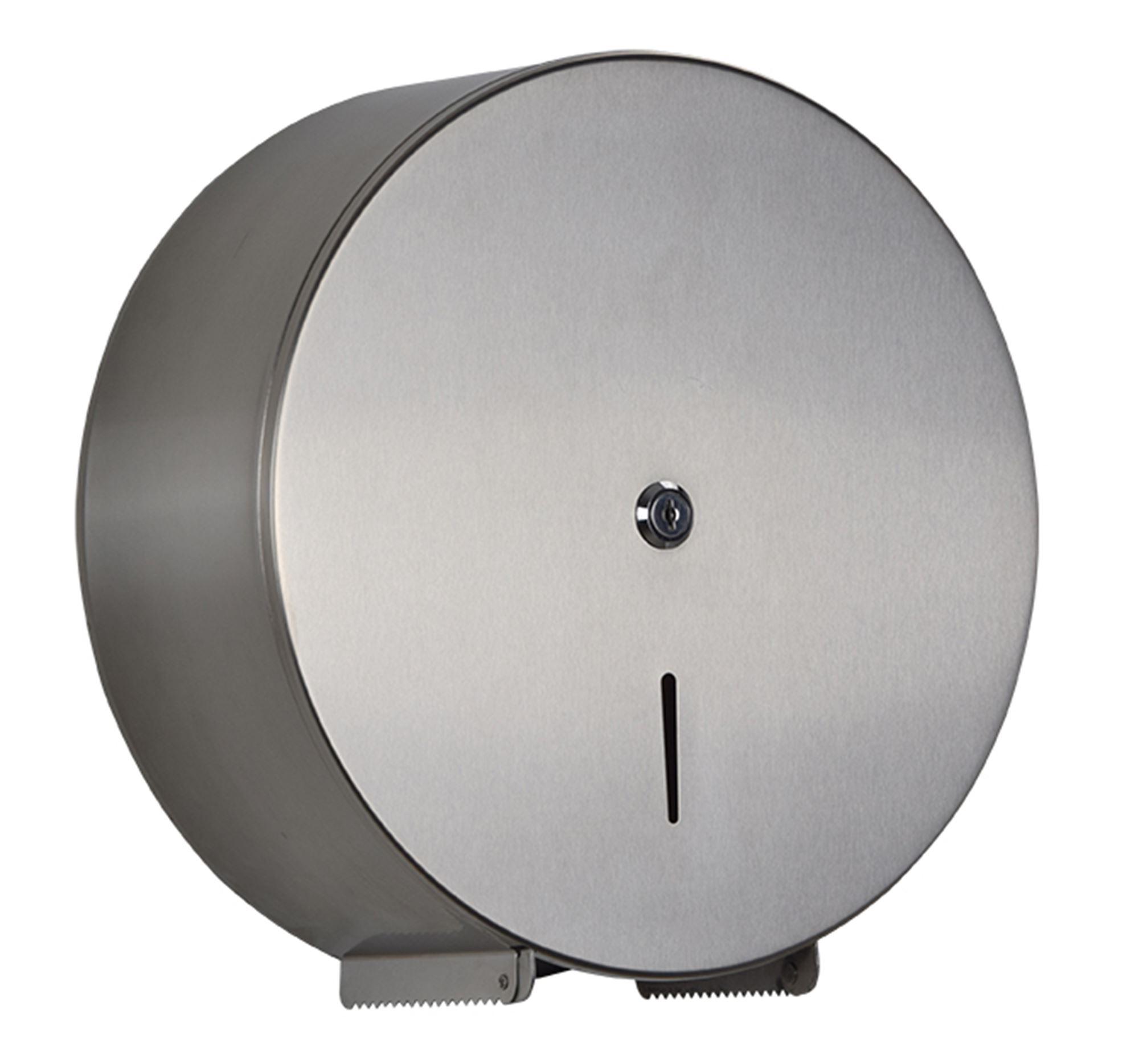 Dérouleur Papier Wc Metal distributeur papier toilette jumbo acier inox brossé