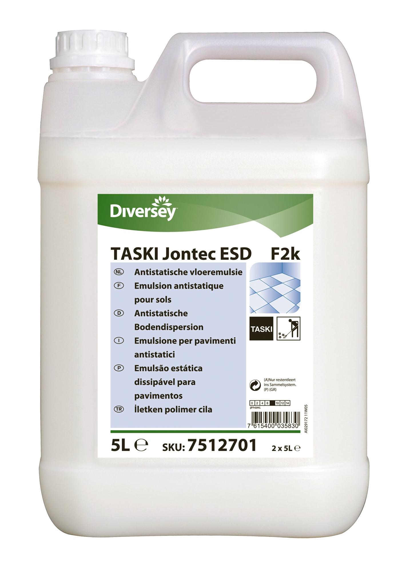 Anti Static Floor Wax : Taski jontec esd anti static floor wax