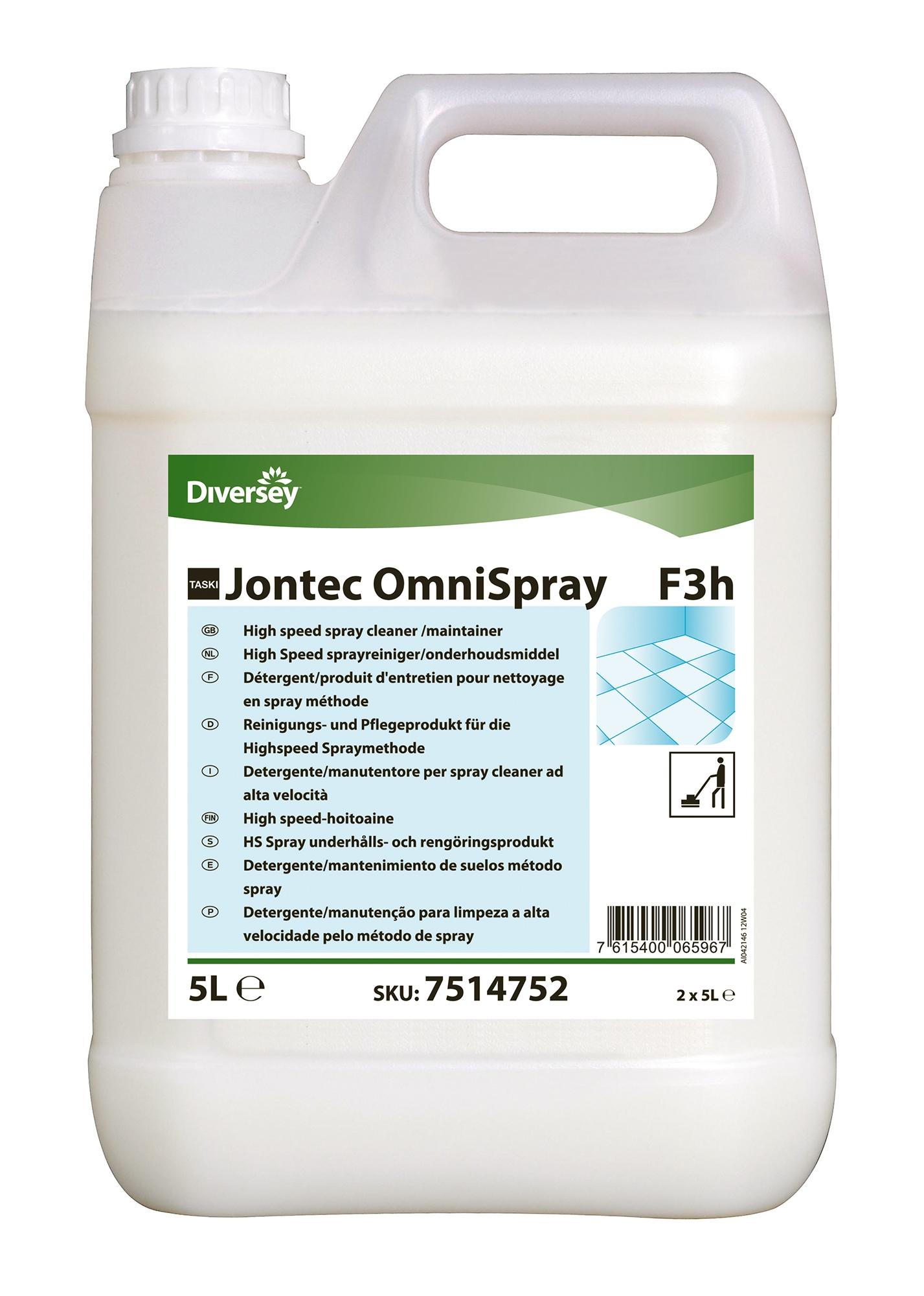 Taski Jontec Omnispray Diversey F3h 2x5l