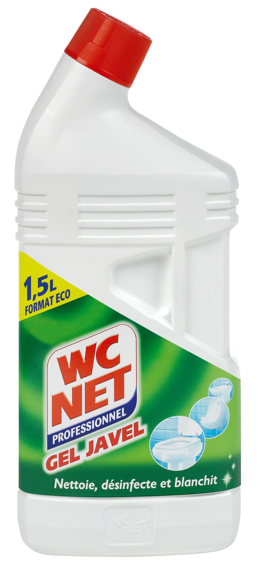 Blanchir Un Parquet À L Eau De Javel net toilet gel javel 1,5l