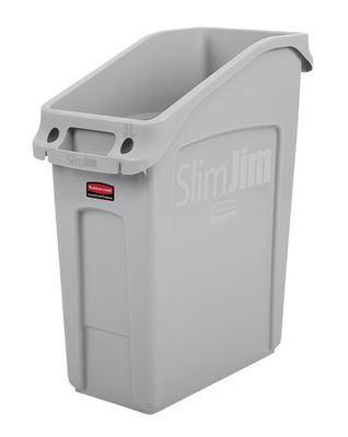 Slim Jim built-in collector gray 49L