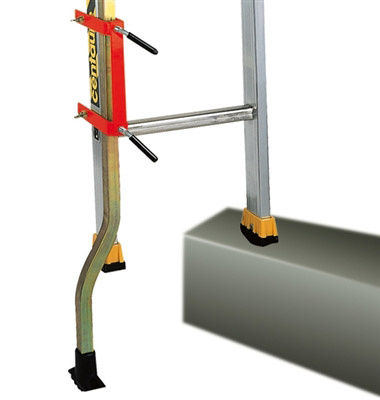 Adjustable Foot Ladder To Scale