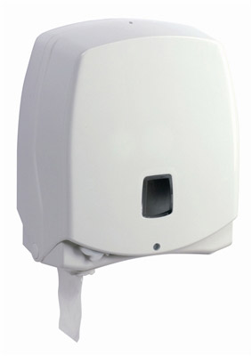 Jumbo mini toilet paper dispenser