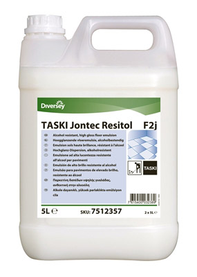 Taski Jontec Resitol Wax Resistant To Disinfectants Can 5 L