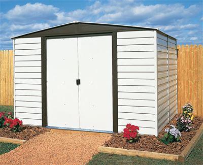 garden shed arrow vd106 galvanized steel paint vinyl 5 m2 - Garden Sheds Vinyl