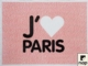 Acheter Set disposable paper deco I Love Paris 30 x 40 packs 500