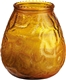 Acheter Candle glass jar amber Venetian Duni 100 x 100 mm box of 12
