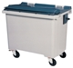 Acheter 770 liter waste container 4 wheel front gray CV taken