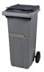 Acheter 2 wheel waste container 120 liters ventral gray