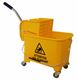 Buy Bibac mop trolley with book winger