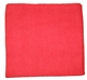 Buy Laser microfiber cloth 40 x 40 cm red special body