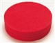 Buy Red spray cleaning pad 406 mm pack of 5 pads