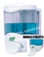 Acheter Liquid soap dispenser 450ml JVD crystal II