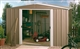 Acheter Garden shed in lacquered steel 4m2