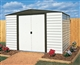 Acheter Garden shed Arrow VD106 galvanized steel paint vinyl 5 m2