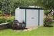Acheter Metal garden shed 3.57 m2 galvanized Arrow
