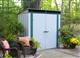 Acheter Metal garden shed 2.32 m2 galvanized Arrow