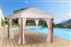 Buy Wooden hexagonal Riviera Deluxe gazebo