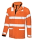 Acheter Coat neon glow orange rain of work