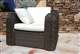 Buy Wicker chair Mikonos round wire prestige