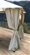 Acheter Arbor garden curtains Atlas 3x3 ecru Constantinople