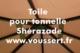 Acheter Shade cloth garden arbor Lams Sherazade burgundy